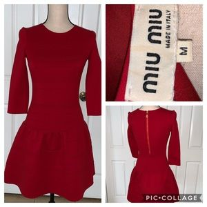 Miu Miu bodycom dress